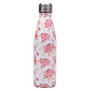 Gourde Isotherme Fleur Rose Belle Amour