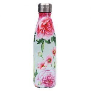 Gourde Isotherme Fleur Rose Scepter