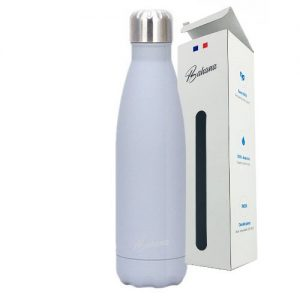 Gourde Isotherme Silicone Gris