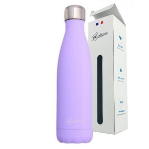 Gourde Isotherme Silicone Violet Ada